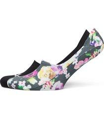 ck women sneaker 2p floral print footies träningssockor/ankle socks multi/mönstrad calvin klein