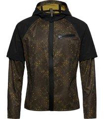 lumen hydro jkt m outerwear sport jackets multi/patroon craft