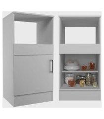 conjunto cozinha compacta marajó c/ 5 portas 2 gavetas branco nova mobile