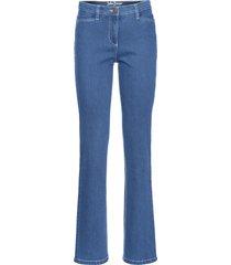 jeans elasticizzati modellanti authentic straight (blu) - john baner jeanswear
