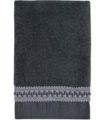 """avanti """"braided cuff"""" hand towel, 16x28"""" bedding"""