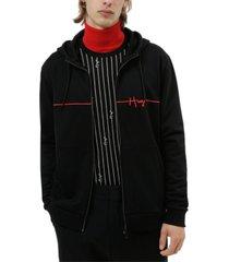 hugo men's regular-fit hooded jacket