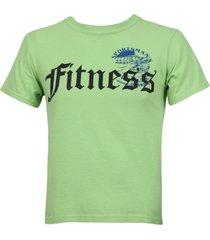 green sportsman logo t-shirt