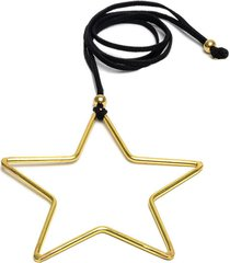collar de mujer dorado stella grande brass colection vestopazzo