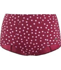 dolce & gabbana polka dot print bikini bottoms - pink
