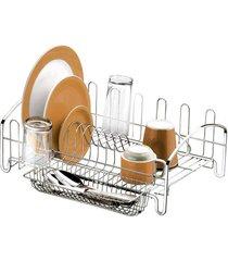 escorredor de pratos com porta talher future