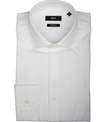 hugo boss overhemd gordon wit regular 50421509/100
