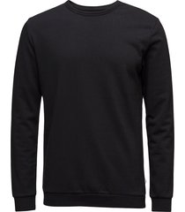 enno o-n ls 7057 sweat-shirt trui zwart samsøe samsøe