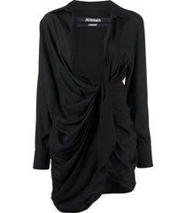 la robe bahia mini dress, black