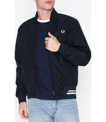 fred perry twin tipped sports jacket jackor navy