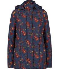 giacca trapuntata fantasia con cappuccio rimovibile (blu) - bpc bonprix collection