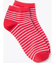 loft striped ankle socks