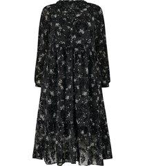 klänning ylace l/s maxi dress