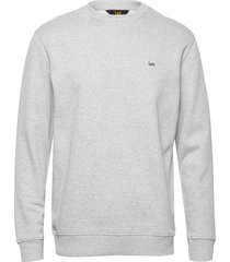 plain crew sws sweat-shirt tröja grå lee jeans