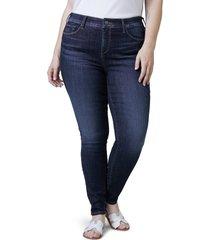 slink jeans mid rise denim leggings, size 16w in kaliah at nordstrom