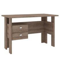 mesa escrivaninha movelbento 2 gavetas rústico