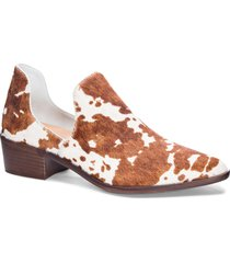 women's chinese laundry fortune bootie, size 9.5 m - brown