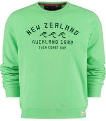 new zealand auckland sweater fielding 505 calcite green