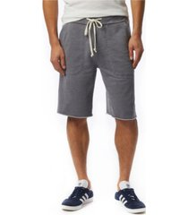alternative apparel men's victory burnout french terry shorts
