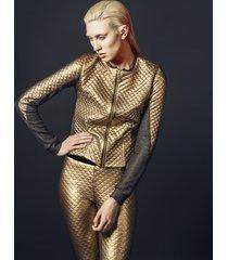 spodnie gold