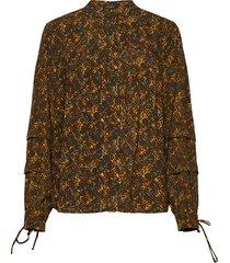 bless amelie shirt blouse lange mouwen multi/patroon bruuns bazaar