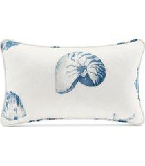 "harbor house beach house 12"" x 20"" printed oblong decorative pillow"
