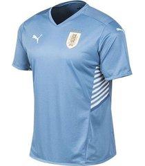 camiseta celeste puma uruguay 21