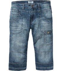 jeans 3/4 regular fit straight (blu) - john baner jeanswear