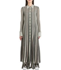 m missoni pinafore dress in lurex knit