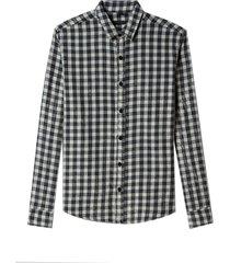 camisa john john moneytown algodão xadrez masculina (xadrez, gg)