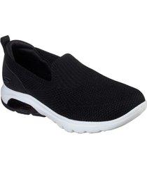 zapatos mujer  go walk air negro skechers