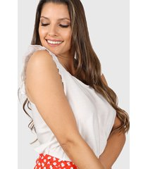 blusa blanca vindaloo lino