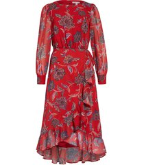 women's chelsea28 floral print ruffle long sleeve maxi dress
