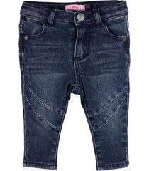 jeans cortes azul pillin