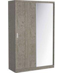 guarda roupa 02 portas de correr c/ 1 espelho 813e1 demolição m foscarini