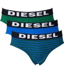 diesel slips andre 3-pak blauw multi