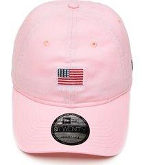 boné new era strapback mini flag rosa