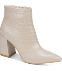 seven dials felicia women's block heel booties women's shoes