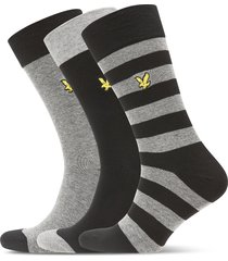 scotty underwear socks regular socks grå lyle & scott