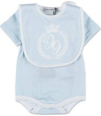 onesie and bib set