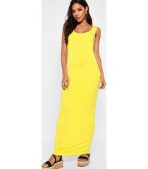 maxi dress, yellow