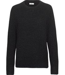 essie sweater stickad tröja svart stylein