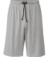 pyjamashorts, grijs-gemêleerd l