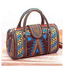 cotton handbag, 'banda bay' (indonesia)