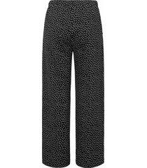 broek van green cotton zwart