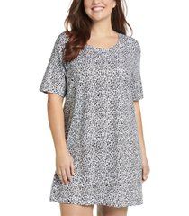 jockey plus everyday essentials cotton short sleeve sleep shirt nightgown