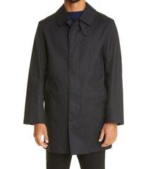 mackintosh cambridge waterproof rain coat, size 40 in black at nordstrom