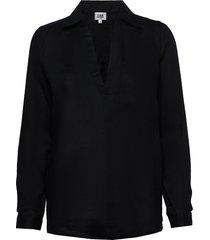 jaden shirt overhemd met lange mouwen zwart twist & tango