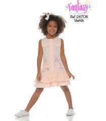 vestido conejitos-fantasy-26708-palo de rosa