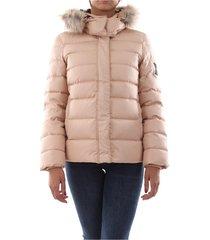 calvin klein k20k201186 essential down jkt jacket and jackets women beige